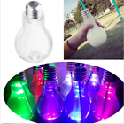 LED Glowing Bulb Water Bottle Brief Clever Milk Juice Light Bulbs Cup Leak-proof