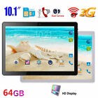 "10.1"" Android Smart Tablet 4GB + 64GB WIFI Octa Core Dual SIM Card Bluetooth GPS"