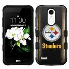 for LG Aristo 2/Tribute Dynasty/Rebel 2 Hybrid Impact Case Pittsburgh Steelers