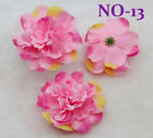 Lot 100PCS 110mm Artificial Flower Heads  silk Peony Floral DIY Wedding Crafts