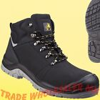 MENS SAFETY BOOTS AMBLERS AS252 STEEL TOECAP S3 DELAMERE WORK BOOTS
