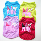 Dog Clothes Puppy Small Dog Cat Pet Vest T-Shirt Soft Coat Costume Apparel