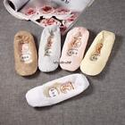 New Women Girls Invisible and No Show Nonslip Loafer Boat Liner Low Cut Socks