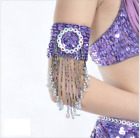 12 colors Bracelet Arm Band with sequins beads Tassels Belly Dance Accessories
