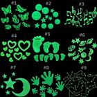New Luminous Hot Room Plastic In Dark 3d Fluorescent Glow Wall Stickers