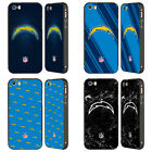 NFL 2017/18 LOS ANGELES CHARGERS BLACK SLIDER CASE FOR APPLE iPHONE PHONES