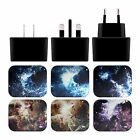 OFFICIAL ANDI GREYSCALE NEBULA 2 BLACK UK CHARGER & USB CABLE FOR APPLE iPAD