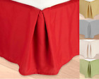 New REGULAR Microfiber Dust Ruffle Bed Skirt Bedding Bed Dressing Bedroom Decor  image