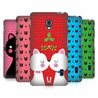 HEAD CASE DESIGNS CHRISTMAS CATS HARD BACK CASE FOR LG PHONES 3