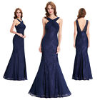 Floor Length Wedding Mermaid Bridesmaids Swing Formal Party Evening Prom Dress