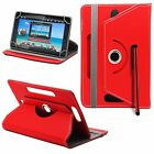 360 Rotatable Leather Stand Universal Case Cover for 7 - 8 Android Tablet PC