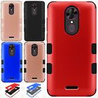 For T-Mobile Revvl Plus IMPACT TUFF HYBRID Protector Case Skin Phone Cover