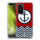 HEAD CASE DESIGNS NAUTICAL CHEVRON SOFT GEL CASE FOR HUAWEI PHONES