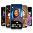 OFFICIAL STAR TREK ICONIC CHARACTERS DS9 SOFT GEL CASE FOR APPLE iPHONE PHONES