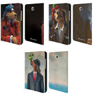 OFFICIAL LONELY DOG PORTRAITS LEATHER BOOK CASE FOR SAMSUNG GALAXY TABLETS