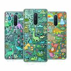 HEAD CASE DESIGNS PREHISTORIC PATTERNS SOFT GEL CASE FOR AMAZON ASUS ONEPLUS