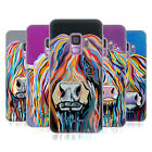 OFFICIAL STEVEN BROWN HIGHLAND COW COLLECTION 1 GEL CASE FOR SAMSUNG PHONES 1