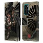 OFFICIAL ANNE STOKES STEAMPUNK LEATHER BOOK WALLET CASE COVER FOR HUAWEI PHONES