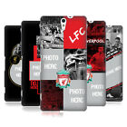 CUSTOM CUSTOMISED PERSONALISED LIVERPOOL FC HARD CASE FOR SONY PHONES 2