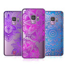 HEAD CASE DESIGNS GLITTER MANDALA PRINTS HARD BACK CASE FOR SAMSUNG PHONES 1