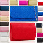 Glitter Fabric Clutch Sparkling Women Bridal Evening Sequins Bags Small / Medium