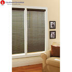 """Better Homes and Gardens 2"""" Faux Wood Windows Blinds, Espresso"""