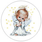 angel stickers scrapbooking - 48/96/144 ANGEL AND STARS ENVELOPE SEALS LABELS STICKERS - OPTIONAL SIZES