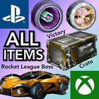 terraria xbox 360 all items - VICTORY CRATE *ITEMS!* - Rocket League - Playstation 4 Xbox One - Painted Items!