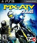MX VS. ATV: ALIVE - SONY PLAYSTATION 3 PS3 GAME COMPLETE