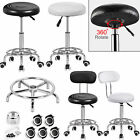 Adjustable Manicure Salon Stool Massage Spa Beauty Barber Chair Backrest Gaslift