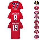 Washington Capitals NHL Reebok Player Name & Number Premier Jersey T-Shirt Men's $11.69 USD on eBay