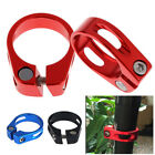 34.9MM MOUNTAIN BIKE MTB ROAD BICYCLE LIGHTWEIGHT ALLOY SEAT POST CLAMP BOLT UK