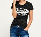 Super Women's T-Shirt Dry Ladies Vintage Logo All Over Print Tee Shirt Top AOP