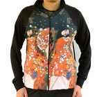 Gustav Klimt Water Snake Serpent Nouveu Sweater Track Jacket Mens Fine Art Print
