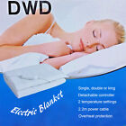 'Dwd Electric Under Blanket With Detachable Controller And Overheat Protection