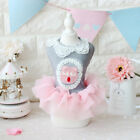 Small Pet Clothes Soft Cotton Princess Puppy Clothes Small Dog Tutu Dress Skirt