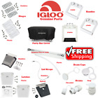 are cap replacement parts - IGLOO COOLER PARTS HINGE LATCH DRAIN PLUG LID STRAP CAP HANDLE STAINLESS STEEL