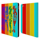 OFFICIAL KISS BAND GROUP LEATHER BOOK WALLET CASE COVER FOR APPLE iPAD