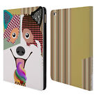 OFFICIAL LANRE ADEFIOYE DOGS 1 LEATHER BOOK WALLET CASE COVER FOR APPLE iPAD