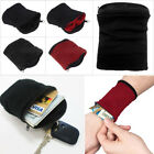 Pocket Sports Gym Key Coin Zipper Travel Running Money Wrist Wallet Purse Cool