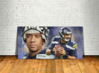 Russell Wilson Seattle Seahawks Canvas Giclee Print Decor Art Poster Artwork $73.5 USD on eBay