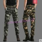 skinny combat trousers - Outdoor Mens Camouflage Overalls Trousers Army Combat Skinny Pants Multi Pockets