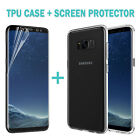 1*Friendly Full Screen Protector Film+TPU Cover For Samsung Galaxy S9 S9+P Case