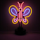 Neon BUTTERFLY Sign (Not LED) Desk Conservatory Light Bedside Reading Lamp Tall