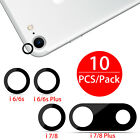 10Pcs Back Rear Camera Lens Glass Cover Adhesive Sticker for iPhone 6/6S/7/8
