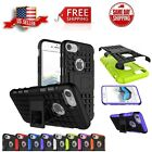 Hybrid ShockProof Kickstand Dual Layer Case Cover for Apple iPhone 8 7 (4.7 in)