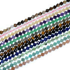 24 Faceted Polygons Natural Gemstones Spacer Beads 7.5'' Jewelry 6mm 8mm 10mm