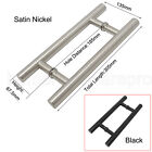 Stainless Steel Two Side Wooden Barn Door Handles Pull Closet Door Handle
