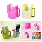 Cute Adjustable Baby Kids Juice Drinks Bottle Box Case Drinking Cup Holder Clip