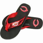 Cincinnati Reds Women's Sequin Flip Flops on Ebay